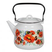 чайник эмалированный 3,5л с рисунком