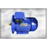 Электродвигатель 1.5 кВт АИР80В4У2 220/380 1400 об/мин на МИМ 300