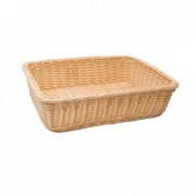 Корзинка для хлеба прямоугольная 36х27х9см 2053