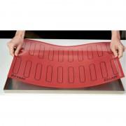 Коврик силиконовый перфорированный для эклеров Eclair 60*40см с рисунком 125*25мм