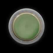Тарелка мелкая 267мм серый+зеленый Corone Tesoro фк 0408