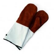 Перчатки термостойкие длинные, кожа +250С GL 2