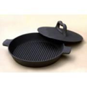 сковорода чугунная для цыпленка-табака 240мм