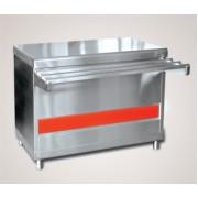 Прилавок для горячих напитков ПГН-70КМ-03 (без полок, 1500мм)